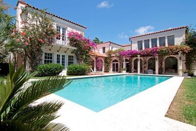 Palm Beach Single Family Home For Sale: 220 Via Bellaria
