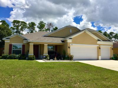 Port Saint Lucie Single Family Home For Sale: 1326 SW Hunnicut Avenue