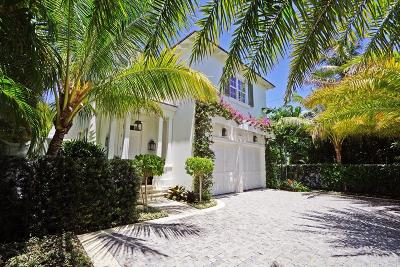 Palm Beach Single Family Home For Sale: 308 Cocoanut Row