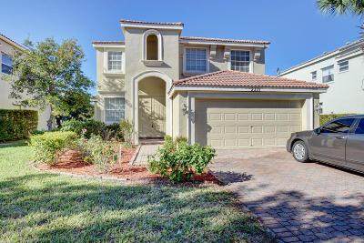 Wellington Single Family Home For Sale: 2371 Waburton Terrace