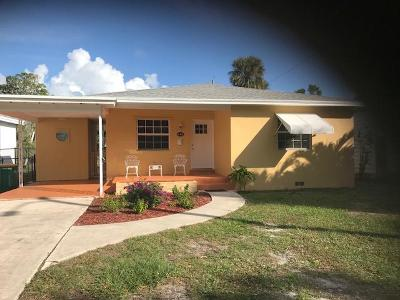 Lake Worth Single Family Home For Sale: 618 Palmway