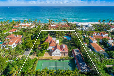 Palm Beach Single Family Home For Sale: 134 El Vedado Road