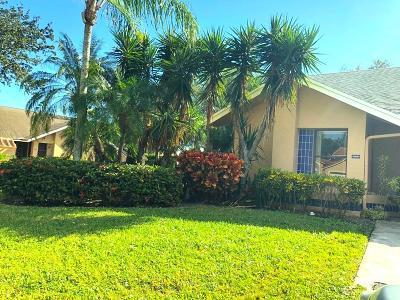 Boca Raton Single Family Home For Sale: 10890 Hidden Lake Place