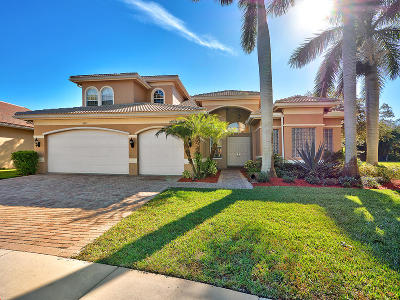 Boynton Beach Single Family Home For Sale: 8912 Rockridge Glen Cove