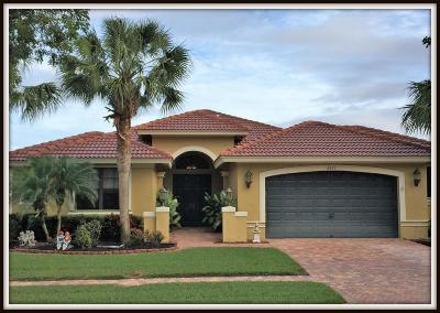 Boynton Beach Single Family Home For Sale: 6872 Caviro Lane