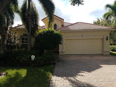 Boynton Beach Single Family Home For Sale: 7122 Veneto Drive