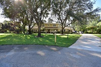Palm Beach Gardens Single Family Home For Sale: 7755 Cannon Ball Road