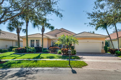 Boynton Beach Single Family Home For Sale: 12113 Oakvista Drive