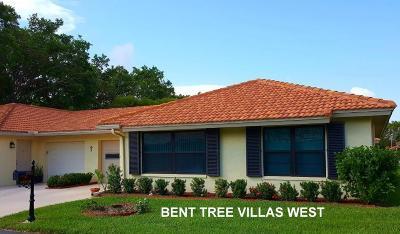 Boynton Beach Single Family Home For Sale: 4455 Nutmeg Tree Lane #B