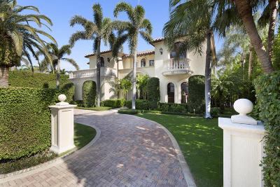 Palm Beach Single Family Home For Sale: 560 Island Drive