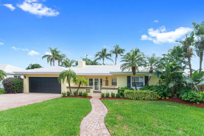 Palm Beach County Single Family Home For Sale: 470 NE Spanish Trail
