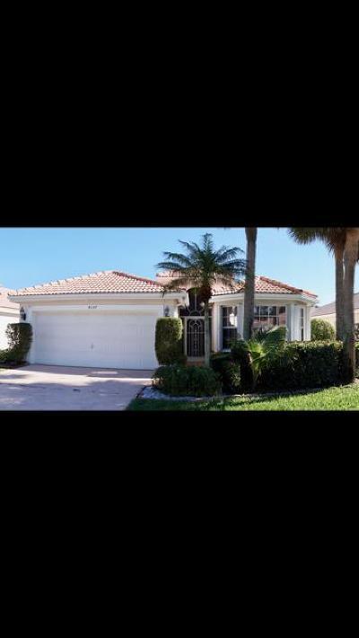 Boynton Beach Single Family Home For Sale: 8137 Mystic Harbor Circle
