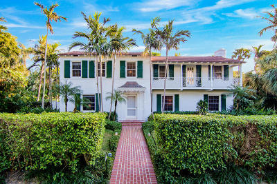 Palm Beach Single Family Home For Sale: 220 Jungle Road