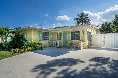 Delray Beach Single Family Home For Sale: 602 Allen Avenue