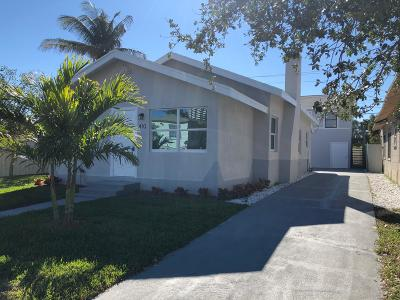 West Palm Beach Multi Family Home Contingent: 410 47th Street