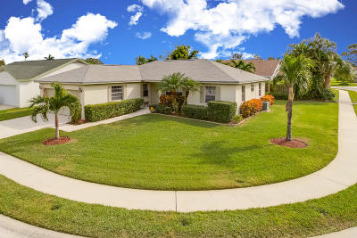 Jupiter Single Family Home For Sale: 155 Stillwater Circle