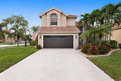 Jupiter Single Family Home For Sale: 133 Pine Hammock Court