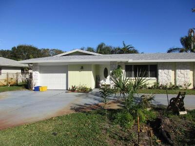 Palm Beach Gardens Single Family Home For Sale: 9760 Military Trail