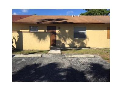 Pompano Beach Single Family Home For Sale: 351 NW 43rd Street