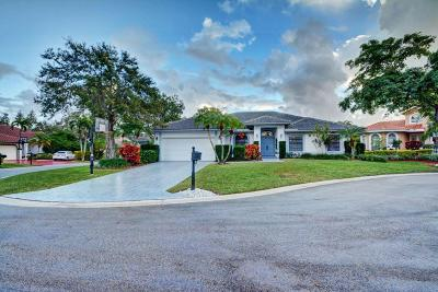 Coral Springs Single Family Home For Sale: 2100 Oakmont Terrace