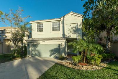 Wellington Single Family Home For Sale: 2626 Sawyer Terrace