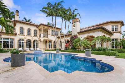 North Palm Beach FL Single Family Home For Sale: $4,250,000