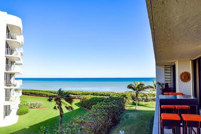 Palm Beach Condo For Sale: 3390 S Ocean Boulevard #305