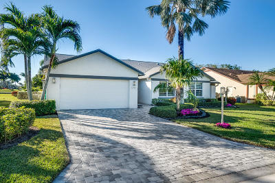 Delray Beach Single Family Home For Sale: 5711 Willow Creek Lane