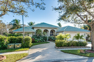 Royal Palm Beach Single Family Home For Sale: 235 Cypress Trace