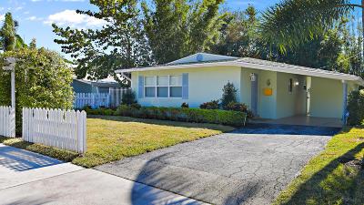 Delray Beach Single Family Home Contingent: 14 NE 5th Street