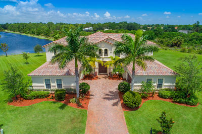 Palm City Single Family Home For Sale: 5073 SW Sensation Street
