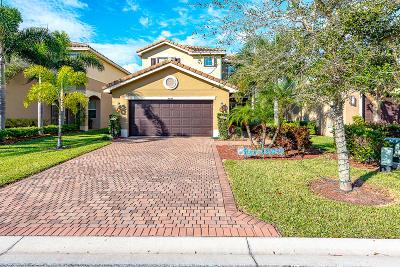 Boynton Beach Single Family Home For Sale: 8307 Calabria Lakes Drive