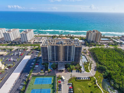 Highland Beach Condo For Sale: 3400 S Ocean Boulevard #15-E