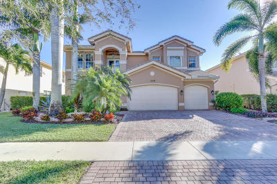 Boynton Beach Single Family Home For Sale: 11208 Brandywine Lake Way