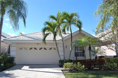 Palm Beach Gardens Single Family Home For Sale: 257 E Canterbury Circle