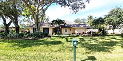 Palm Beach Gardens Single Family Home For Sale: 19 Thurston Drive