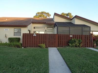 Delray Beach Single Family Home For Sale: 5041 Nesting Way #C