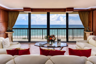 Halcyon Of Palm Beach Condo For Sale: 3440 S Ocean Boulevard #603 S