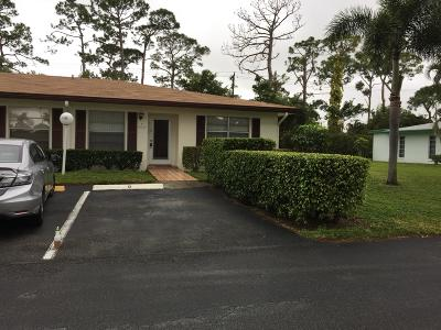 delray beach Single Family Home For Sale: 5132 Petal Place #D