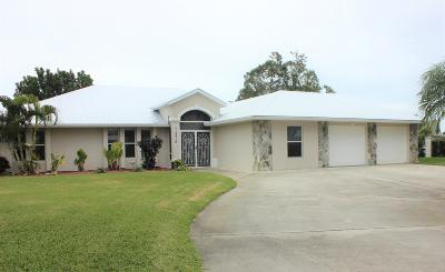 Palm City Single Family Home For Sale: 2419 SW 12th Terrace