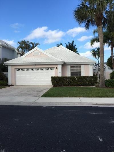 Palm Beach Gardens Single Family Home For Sale: 32 Dorchester Circle