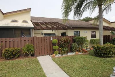 Delray Beach Single Family Home For Sale: 5110 Nesting Way #B