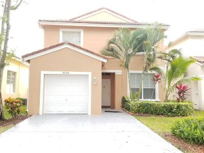Lake Worth, Lakeworth Single Family Home For Sale: 6698 Green Island Circle