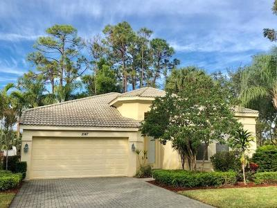 Royal Palm Beach Single Family Home For Sale: 2147 Reston Circle