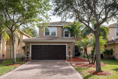 Boynton Beach Single Family Home Contingent: 10426 Gentlewood Forest Drive