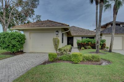 Boca Raton Single Family Home Contingent: 19452 Waters Reach Lane #301