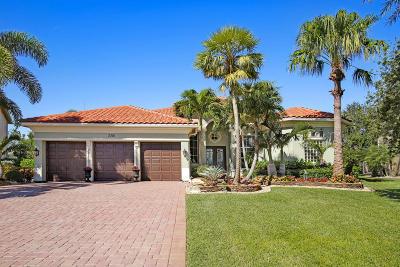 Wellington Single Family Home For Sale: 3301 Lago De Talavera