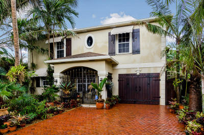 Lake Worth Single Family Home For Sale: 1717 L Street