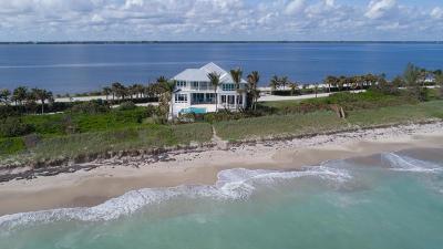 Jensen Beach Single Family Home Contingent: 8316 S Ocean Drive