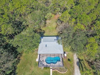 Palm City Single Family Home For Sale: 5586 SW Savage Street
